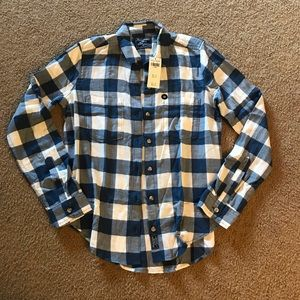 Abercrombie & Fitch Drapey Button Up Shirt XS
